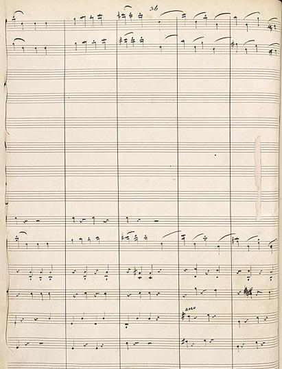 Overture Flute Violin clarification detail