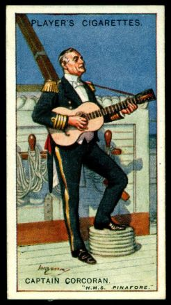Corcoran Cigarette Card