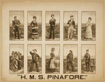 PInafore Characters
