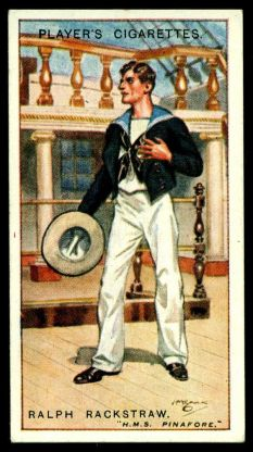 Rackstraw Cigarette Card