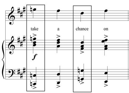 Wicked Chord Take A Chance 2