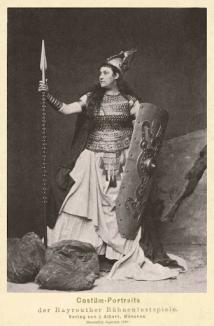 Amalie Materna, Bayreuth's first Bruenhilde